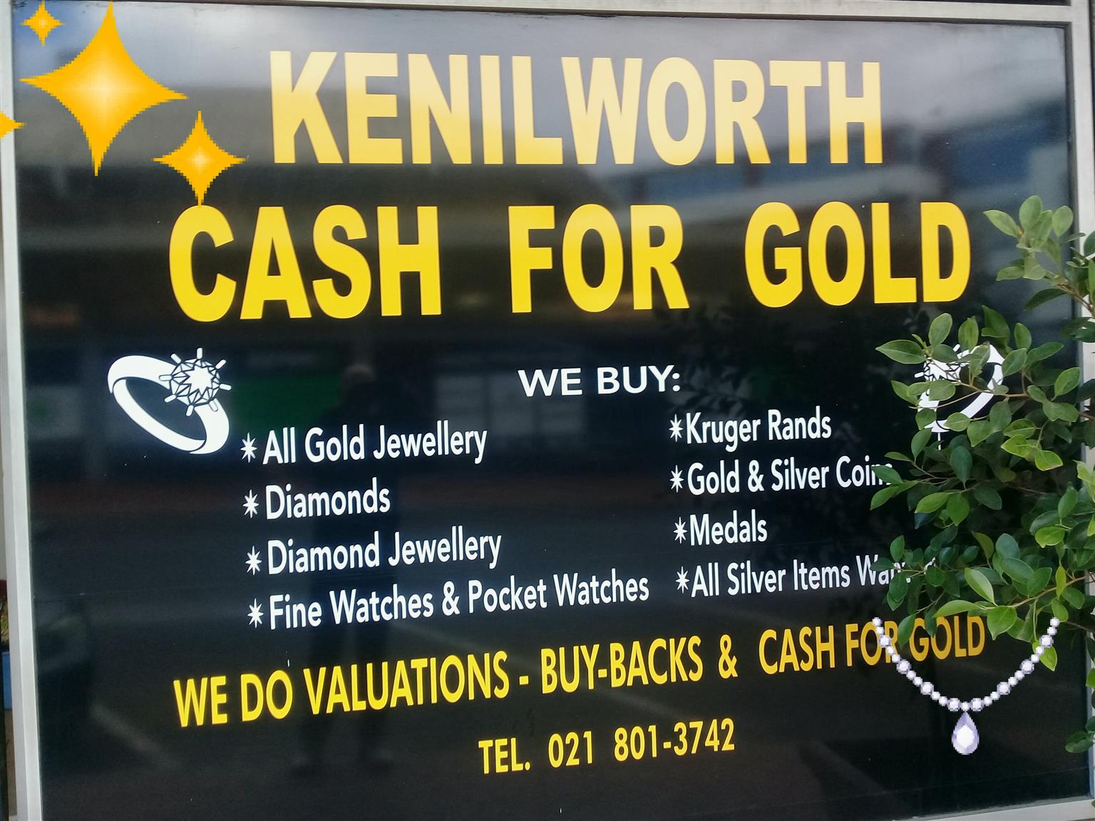 cash 4 gold Kenilworth gold exchange