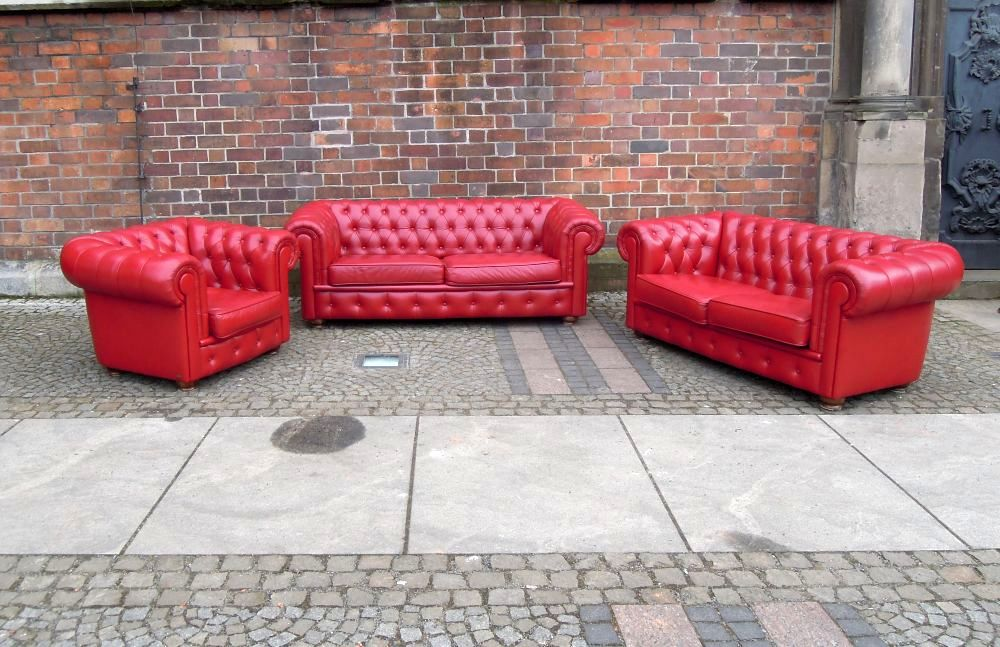3pc Chesterfield Lounge Suite