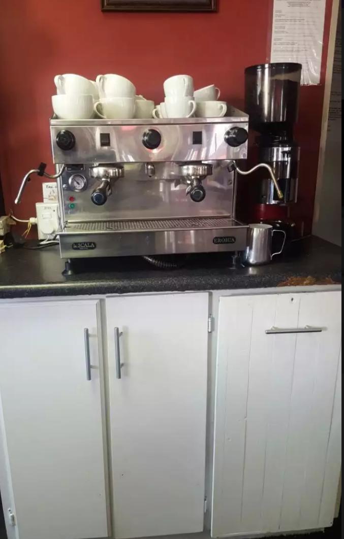La SCALA EROICA Espresso Machine