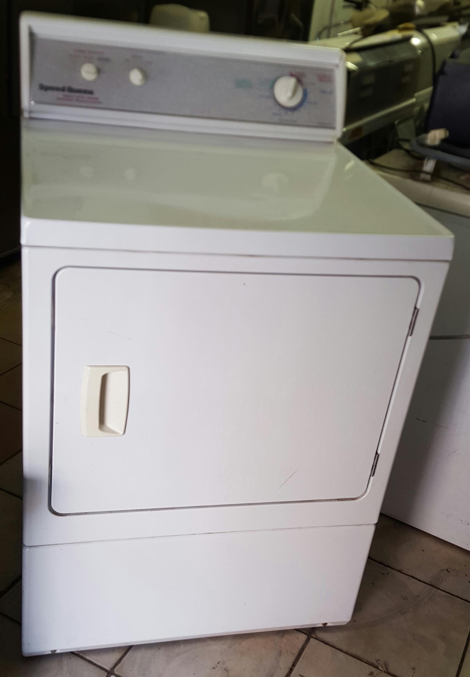 Speed queen heavy-duty commercial tumble dryer