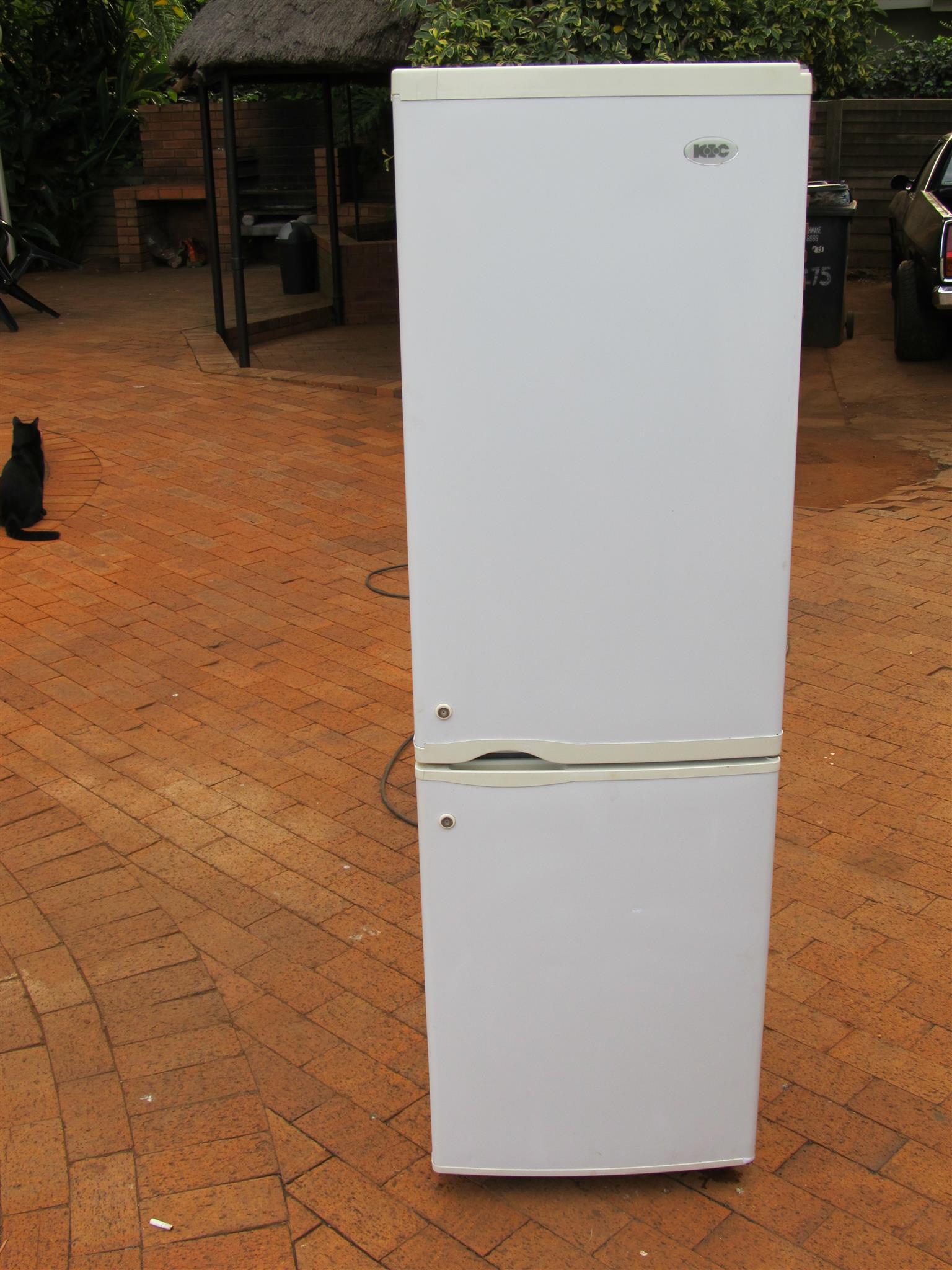 KIC Double door fridge/ freezer 316L