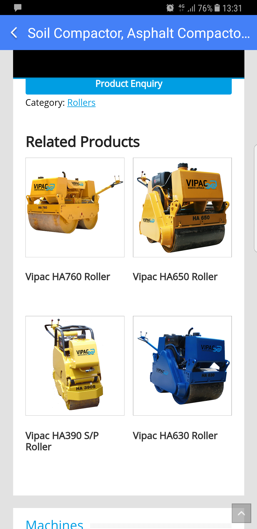 REPAIR AND MAINTENANCE OF COMPACTION MACHINES