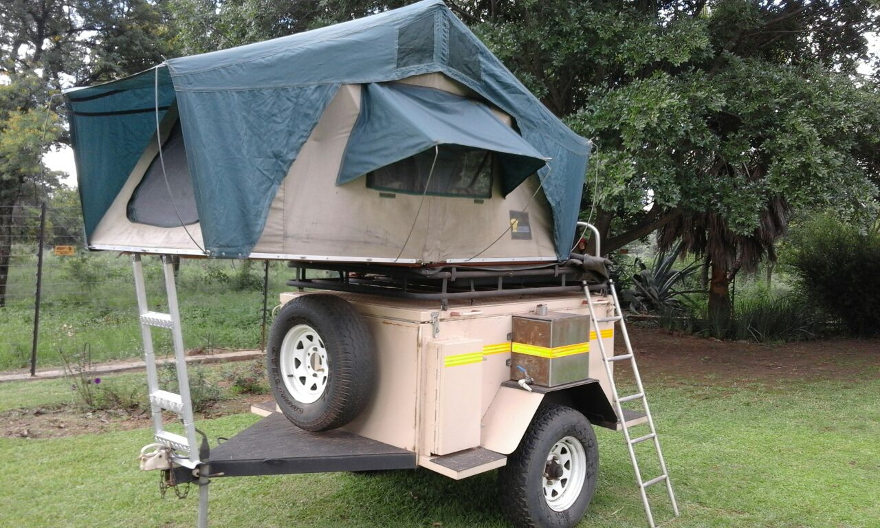 Bush bee 4x4 trailer with roof tent & Bush bee 4x4 trailer with roof tent | Junk Mail