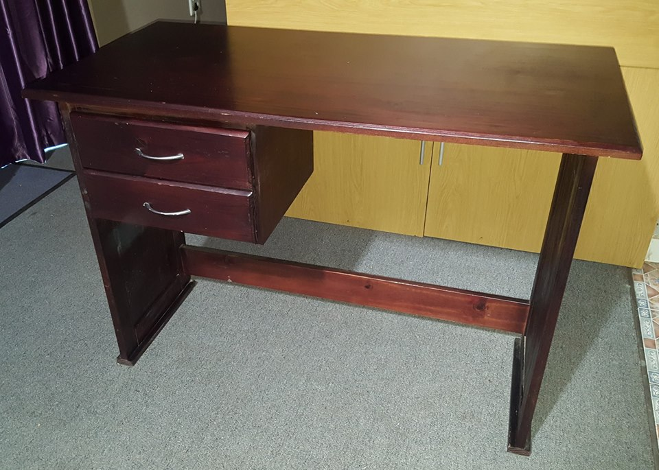Stained Pine Desk