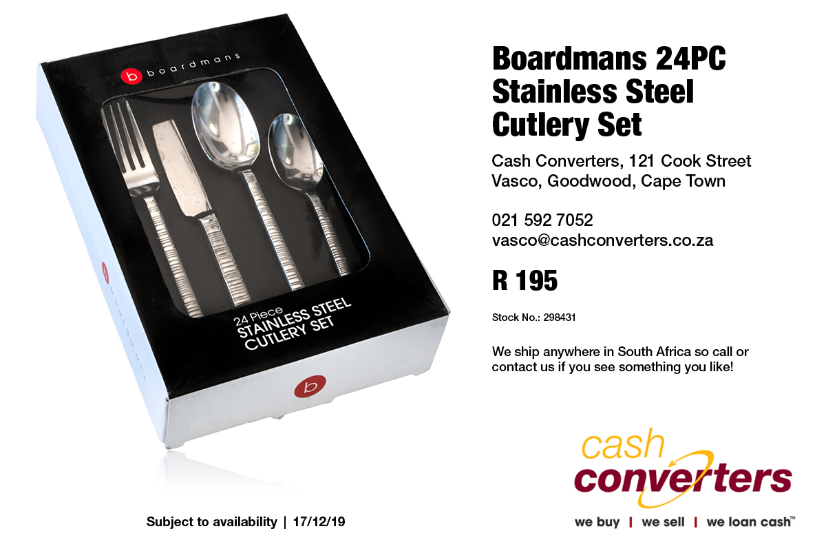 Boardmans 24PC Stainless Steel Cutlery Set