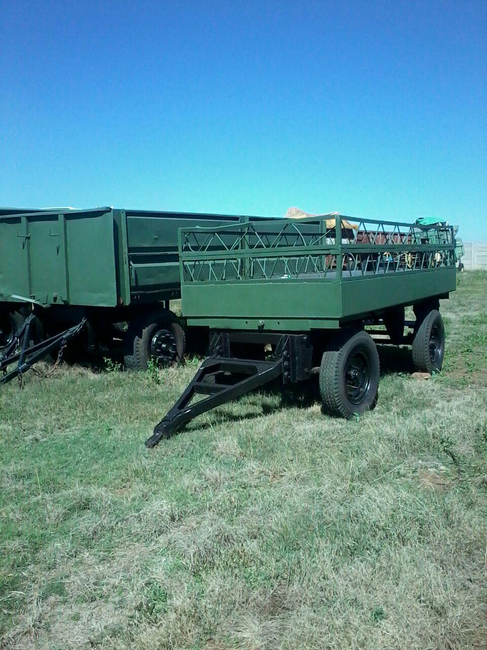 three cheap farming trailers