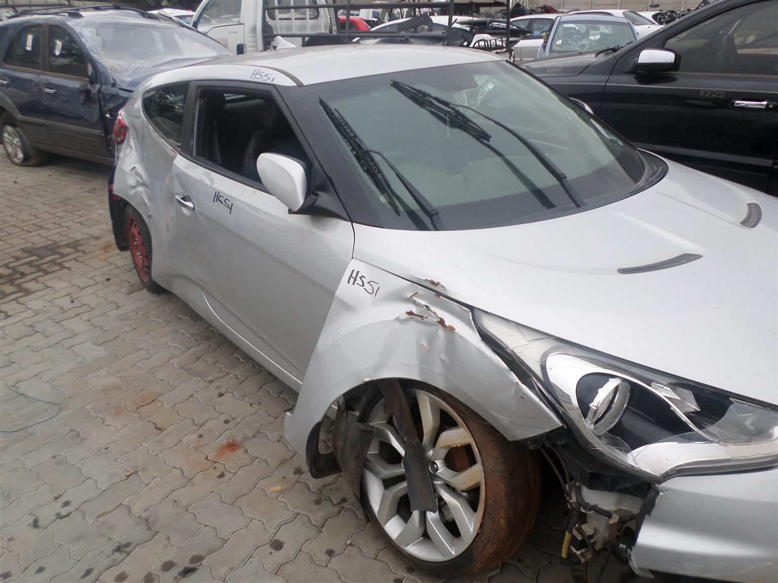 Hyundai Veloster 1.6 G4FD engine now for stripping of all parts.