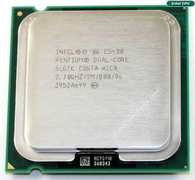 Intel Pentium Dual Core E5400 CPU