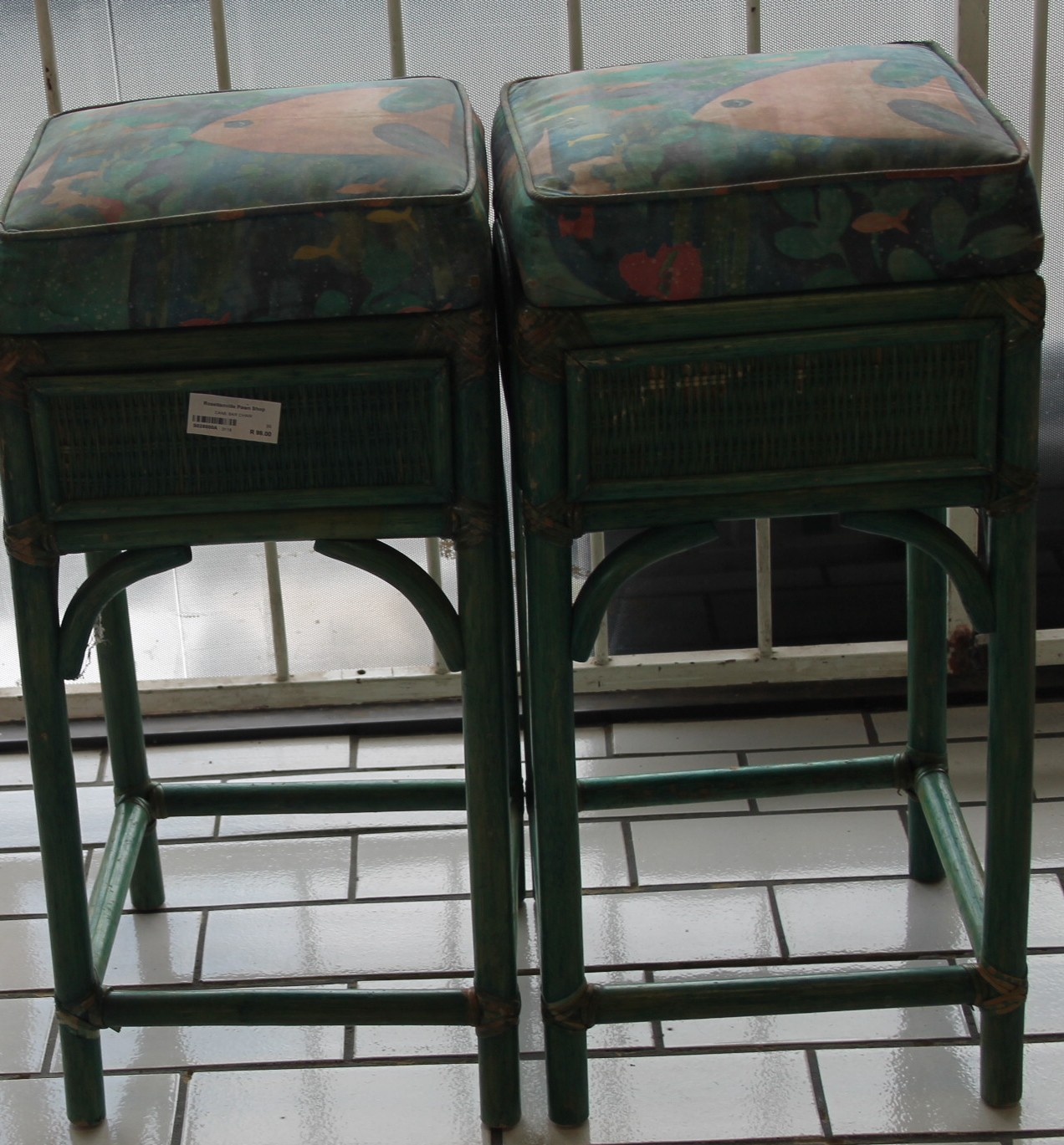 Cane bar chairs S028000a #Rosettenvillepawnshop