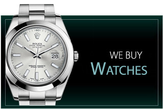 We do instant cash loans against high end watches
