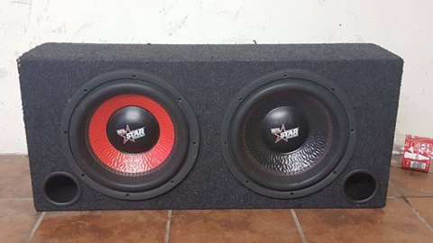 Starsound Dvc subs in box