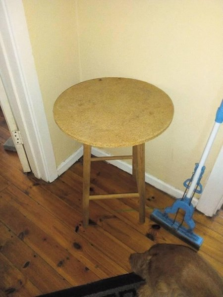 2 x round tables