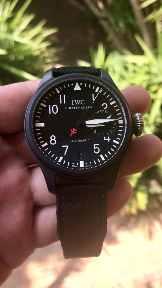 IWC Top Gun Big Pilot 7 days Super Clone