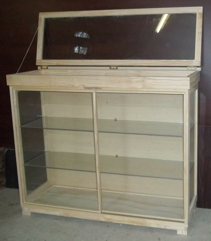 """COUNTERS, Glass """"Display Counters with LED/ Lights, Sliding doors etc. Dust Proof !"""