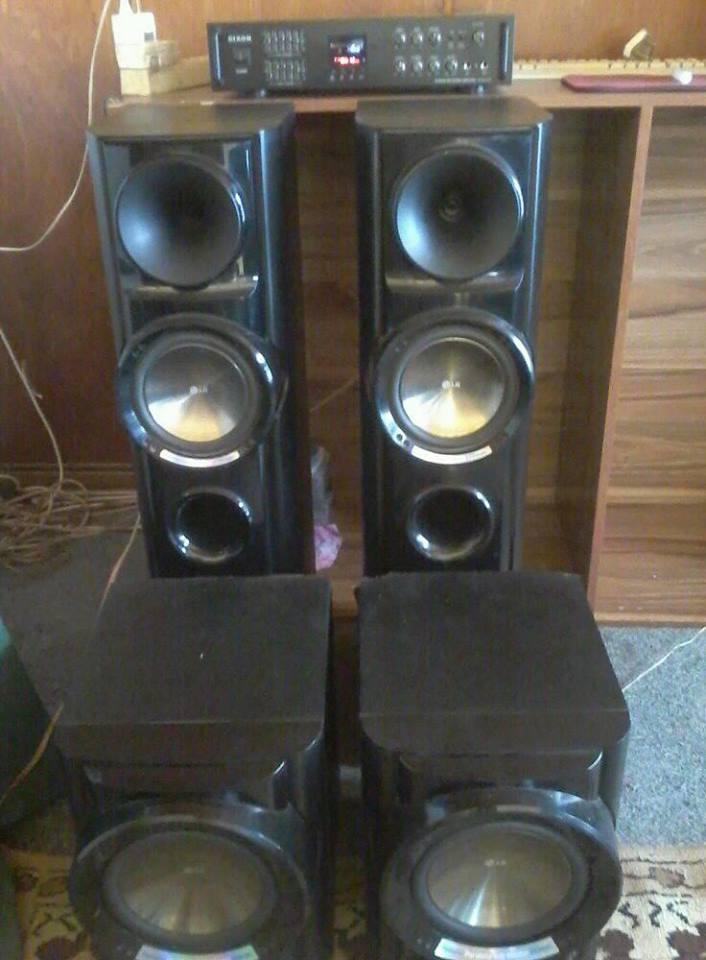 Sound system te koop