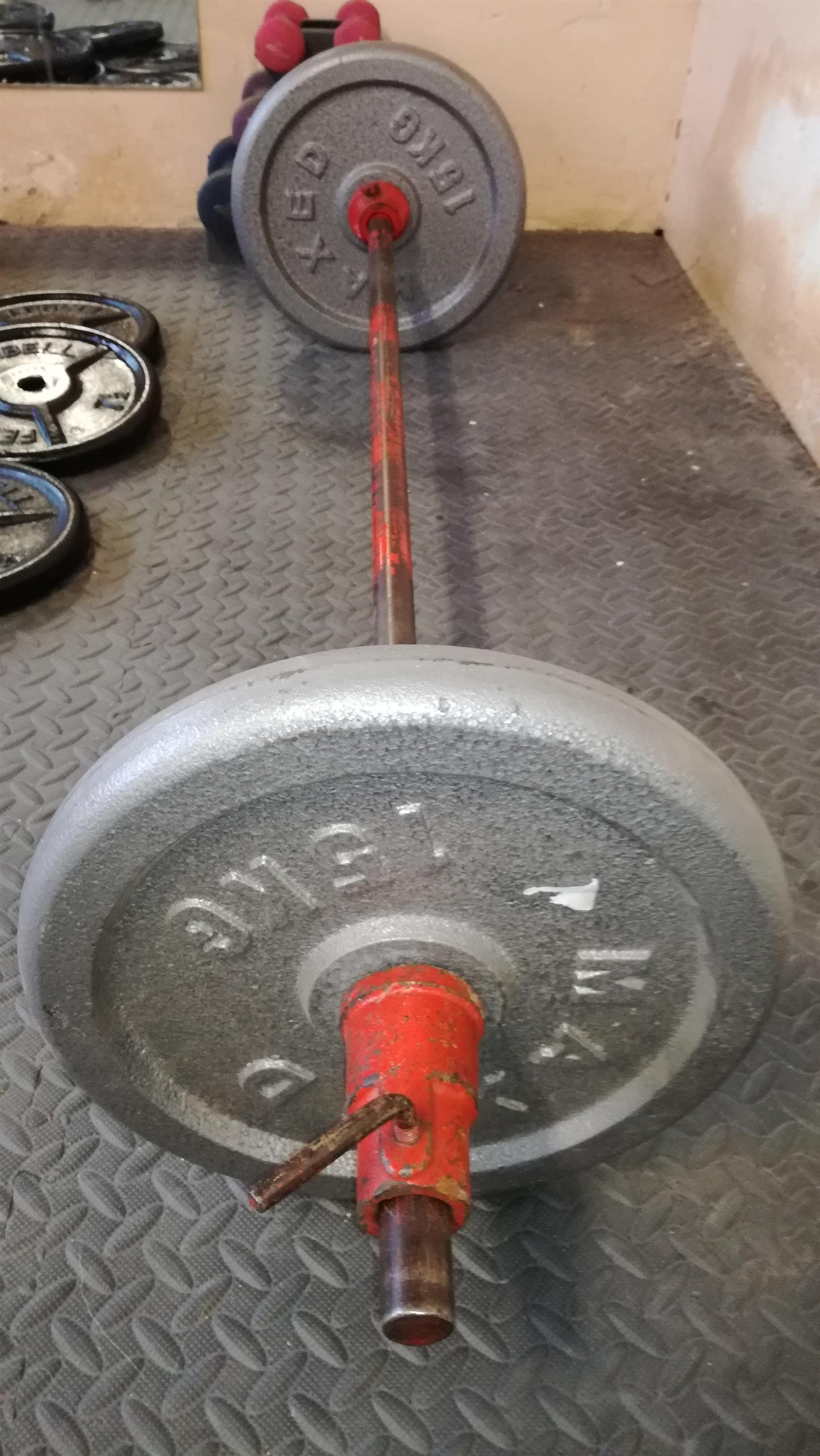 Barbell 15kg + 15kg = 30kg