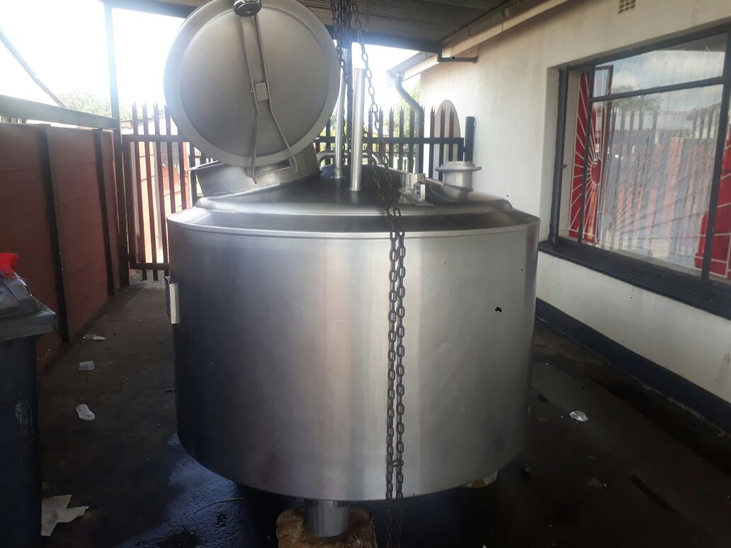 1000ltr Stainless Steel Tank, Jacketed