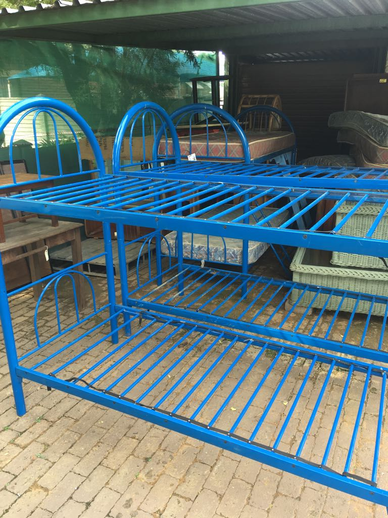 Bunker Beds - 3 Sets Available - including mattresses