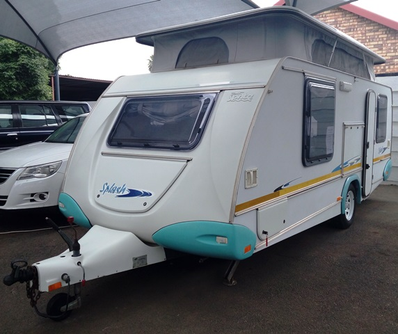 2004 Sprite Splash (Light blue corners) in very good condition with aircon selling for R119 000, Wonderboom South, Pretoria.