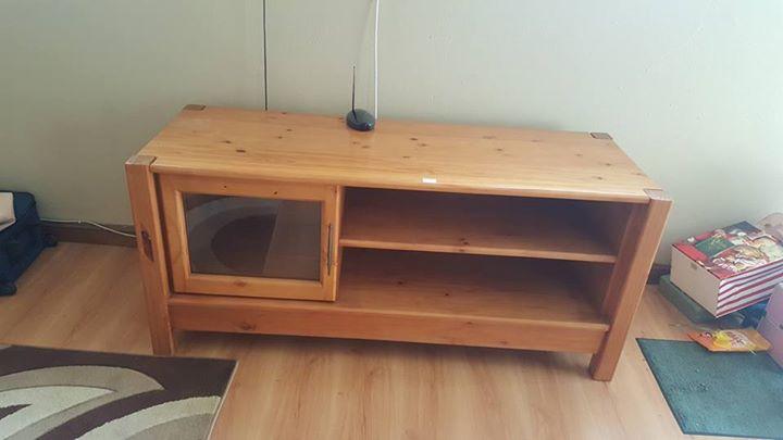 Wooden Plasma cabinet