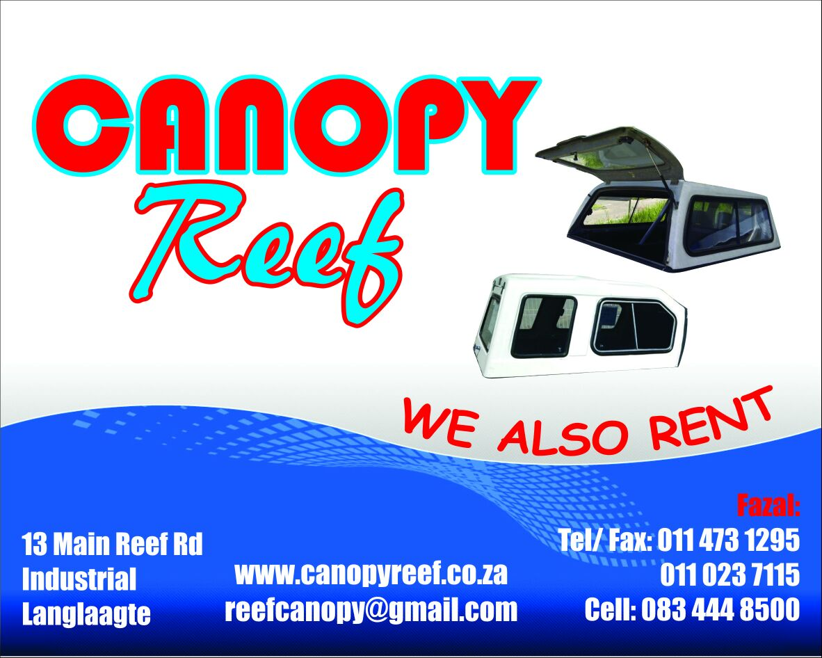 Canopy Reef:  New and used canopies for all makes and models of bakkies