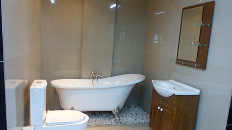 BATHROOM CABINET WALLING