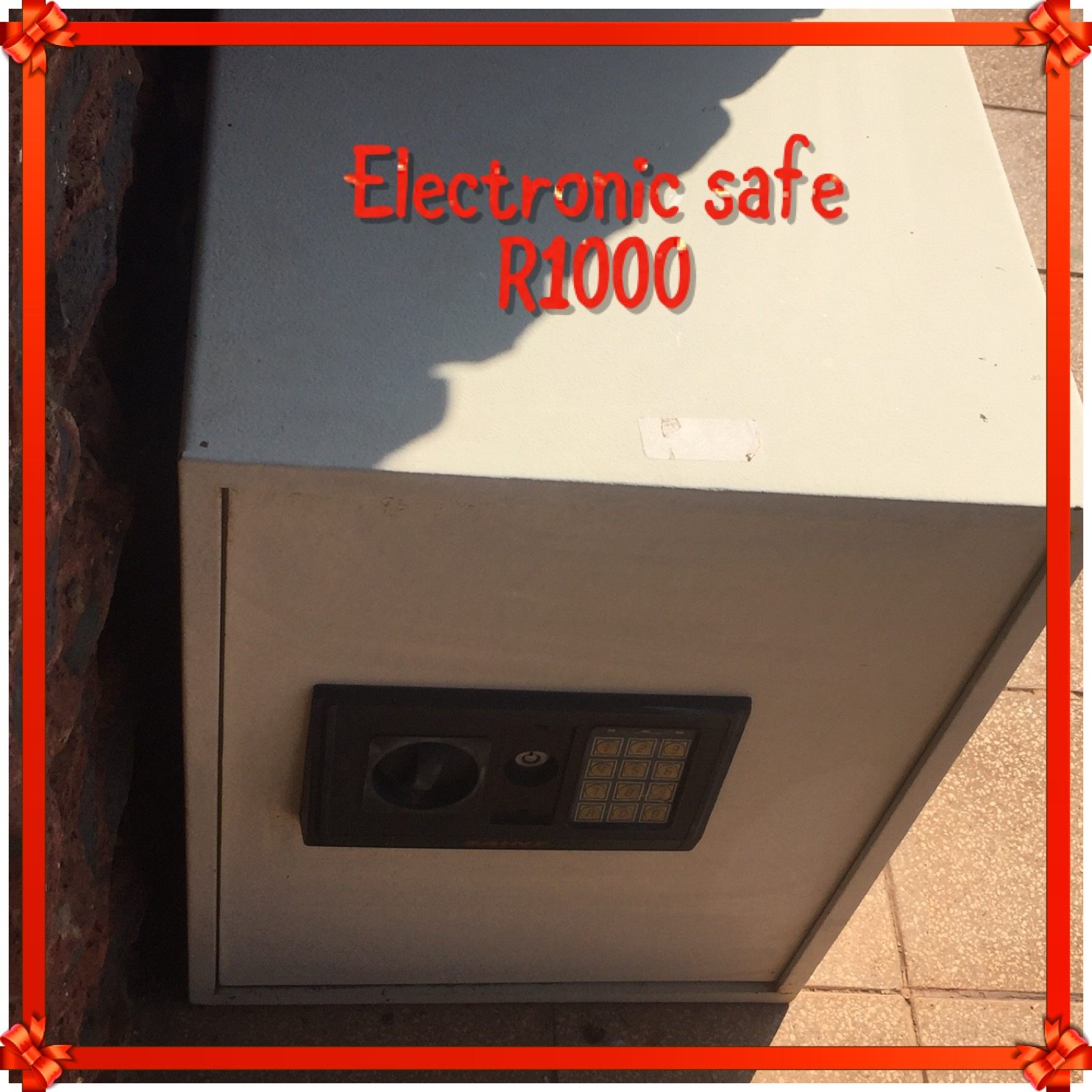 Electronic large floor standing safe for sale