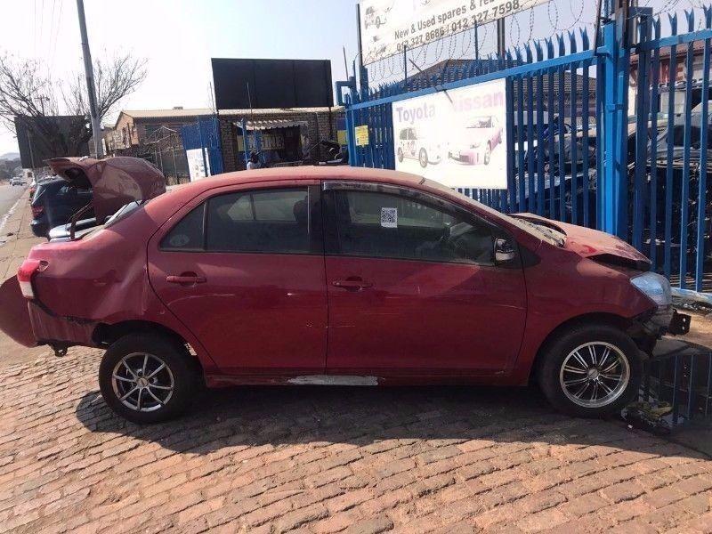 Toyota Yaris Sedan stripping for spares