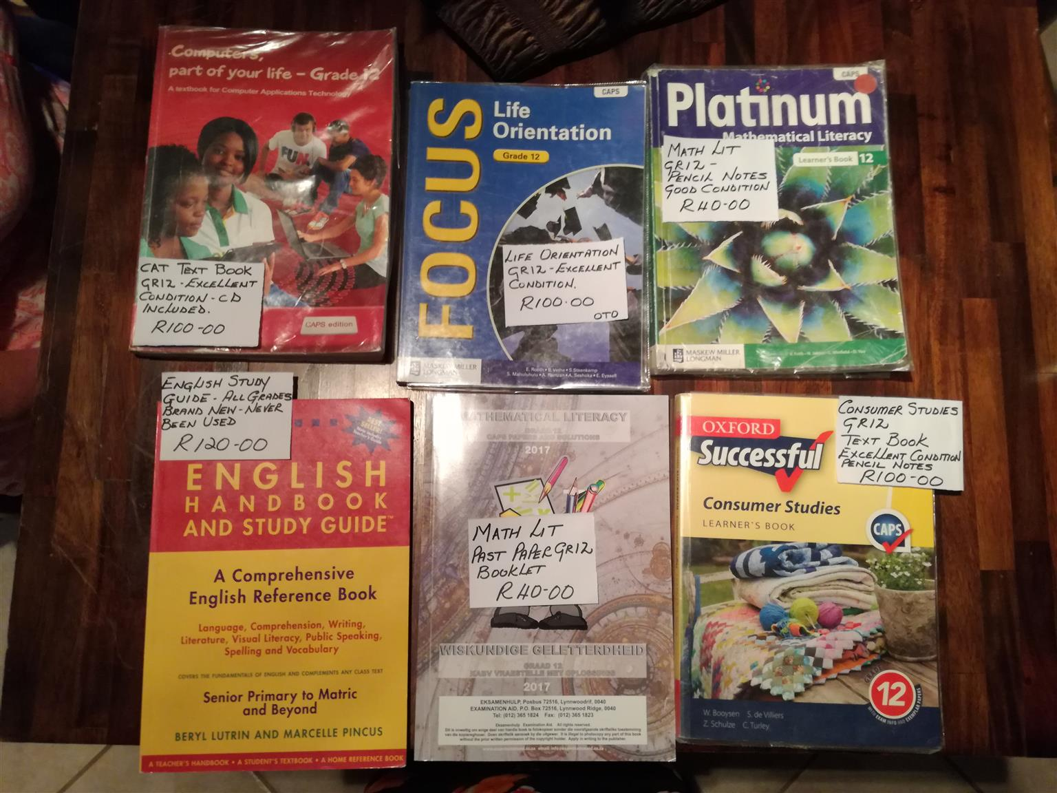 TEXTBOOKS FOR SALE ALL ARE IN GREAT CONDITION