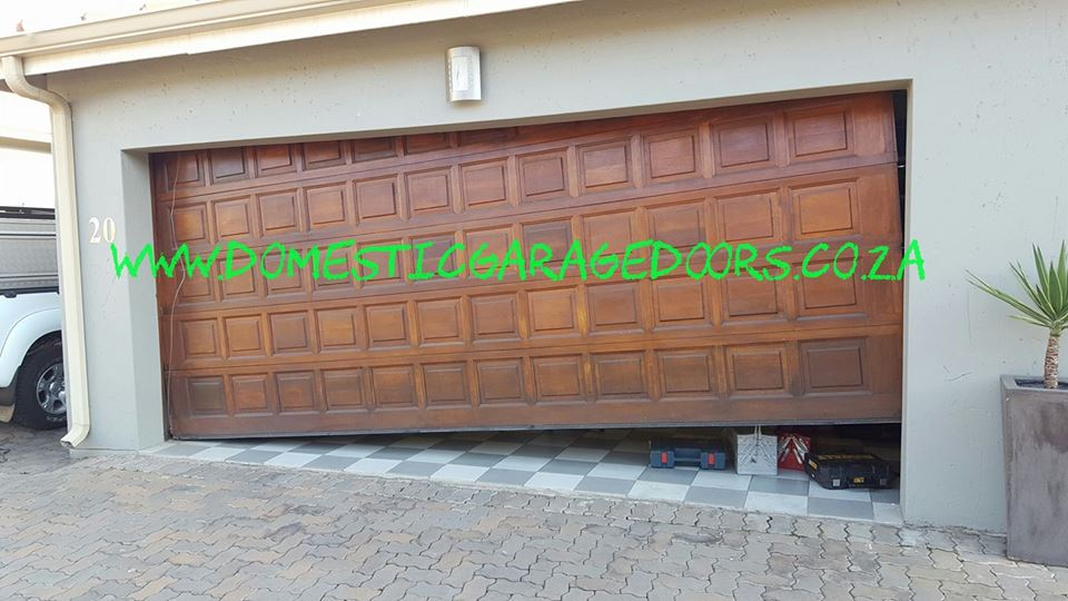 Garage door repairs by qualified and professional company