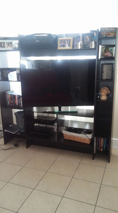 Wall unit ( Excluding the tv)