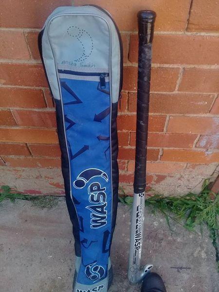 Hockey stok+sak+2balle