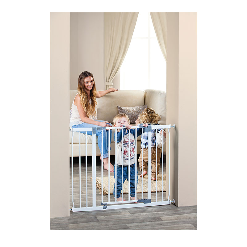 Pet Liberty Hallway Gate – White (99cm to108cm) [Steel]