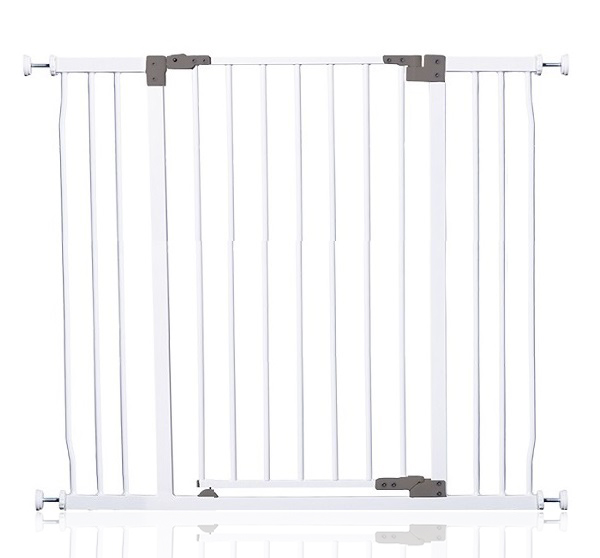 Pet Liberty Hallway Gate – White (99cm to108cm) [Steel]