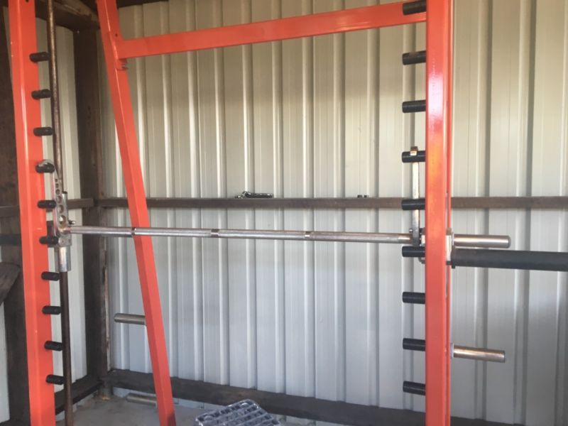 Commercial Magnum Smith Machine w Linear Bearings