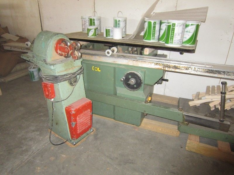 Woodworking machinery: Losser Dowl MNF machine