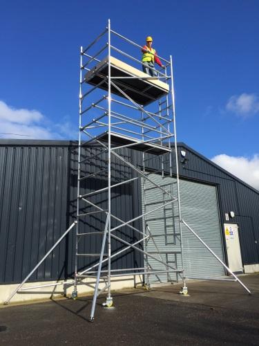 Mobile Tower Aluminium Scaffold
