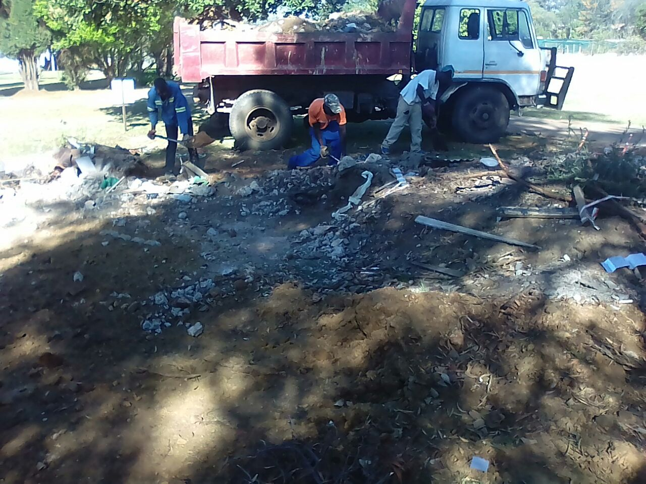 RUBBLE REMOVAL & TREEFELLING