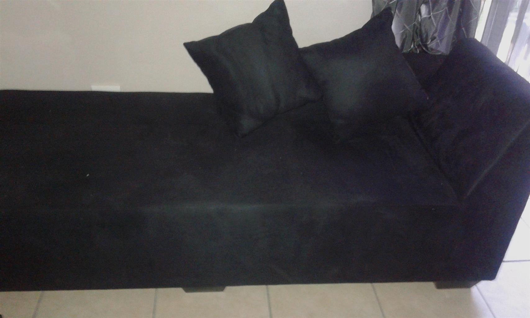 Brand new suede couch