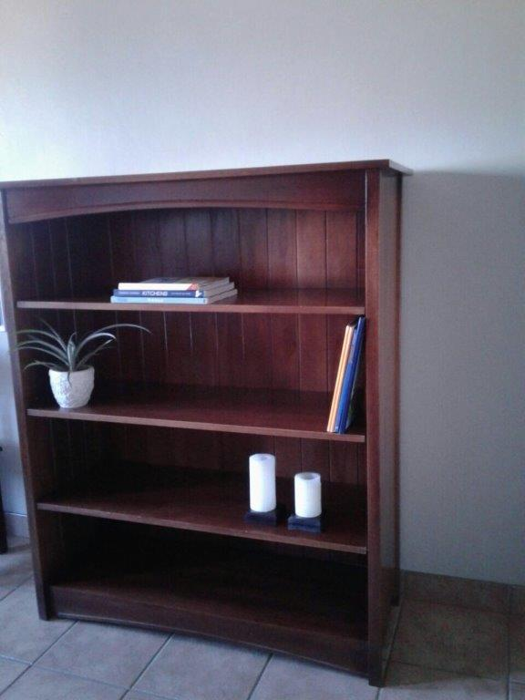 BOOKCASE. SOLID WOOD BOOKCASE. Stunning piece of solid furniture