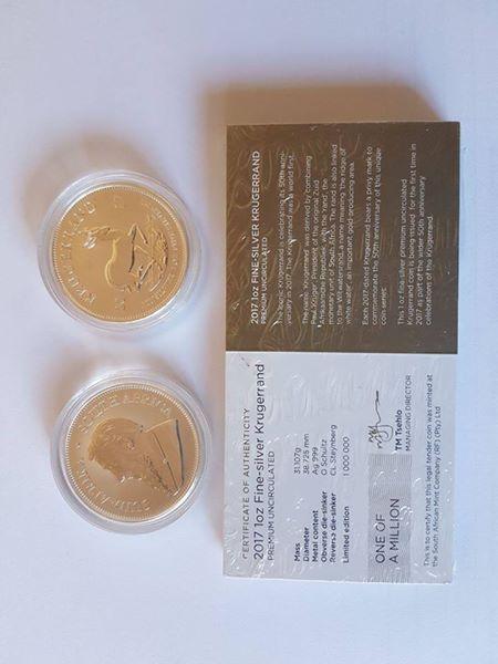For sale 25 off Fine Silver 1 oz Kruger Rand coins