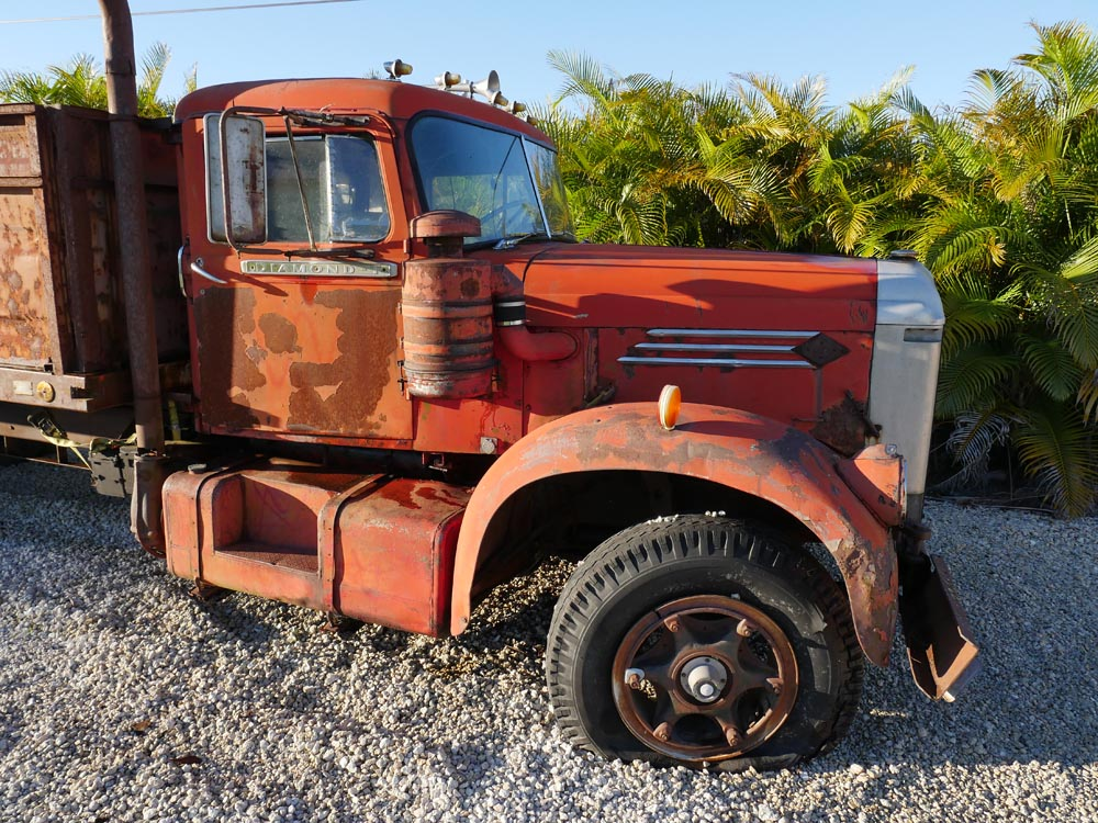Wanted old Diamond T truck
