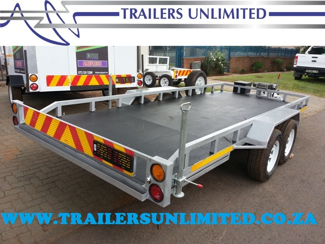 TRAILERS UNLIMITED. THE ULTIMATE CAR TRAILERS.