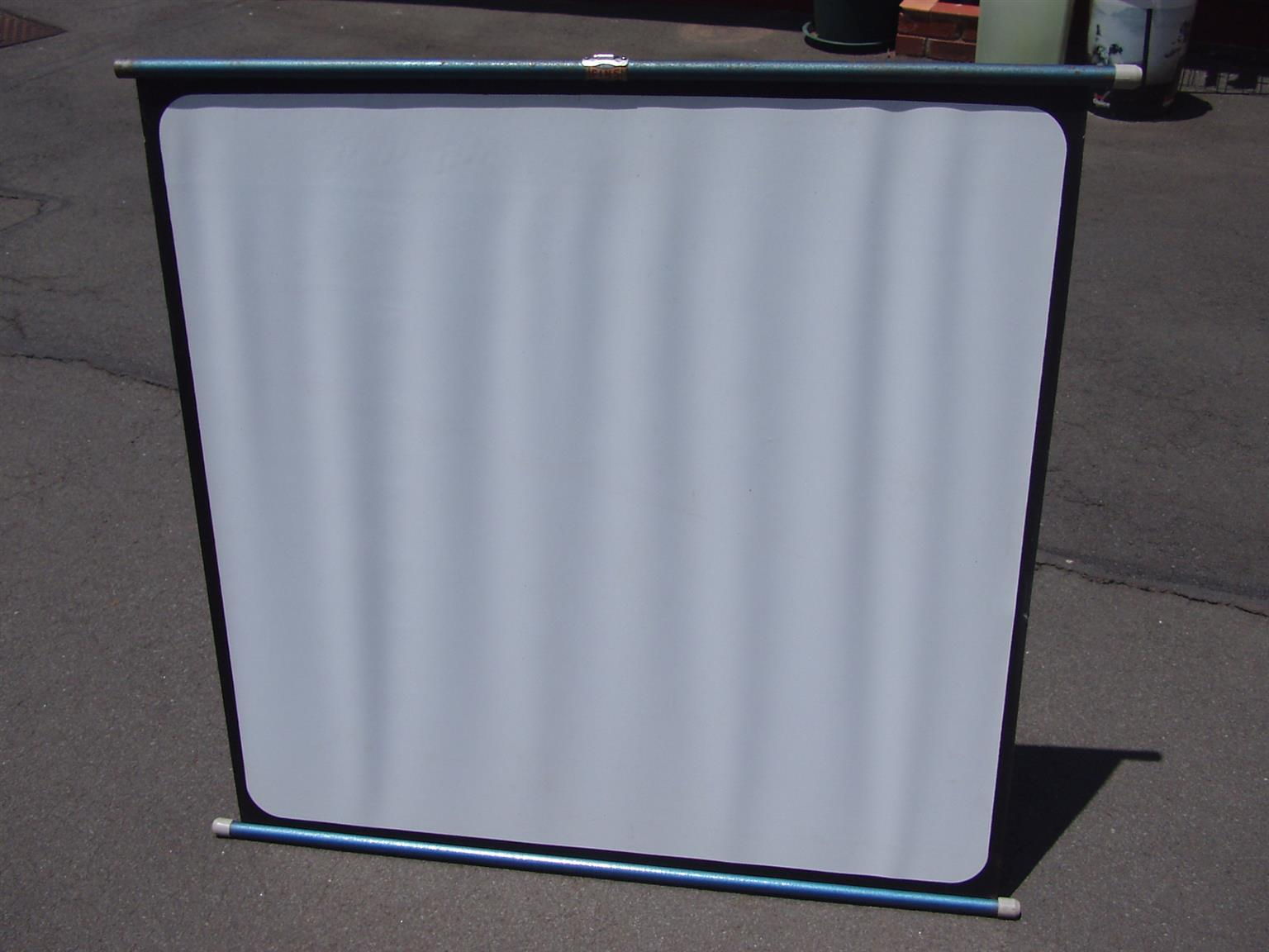 Projector Screen - easy to assemble and use anywhere