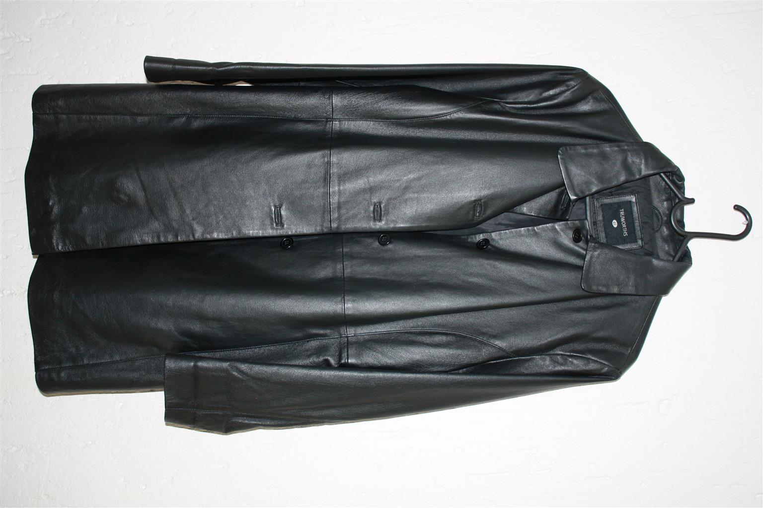 Leather Coat - Ladies