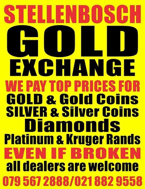 Stellenbosch Gold Exchange | Junk Mail