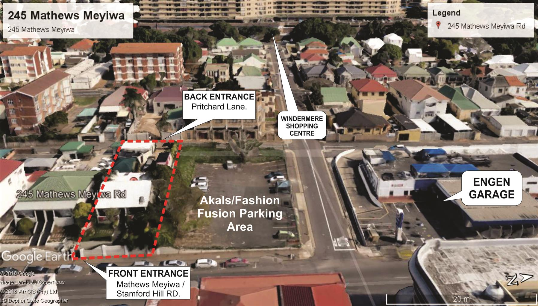 Investor Prop. - Dual Zoned Commercial/Residential Property For Sale : Morningside, Durban