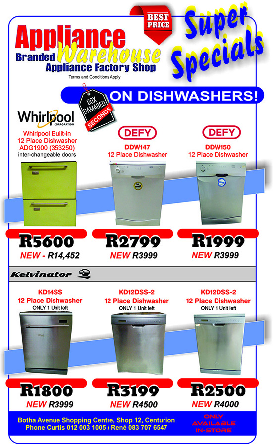 Household Appliances - BIG AND SMALL