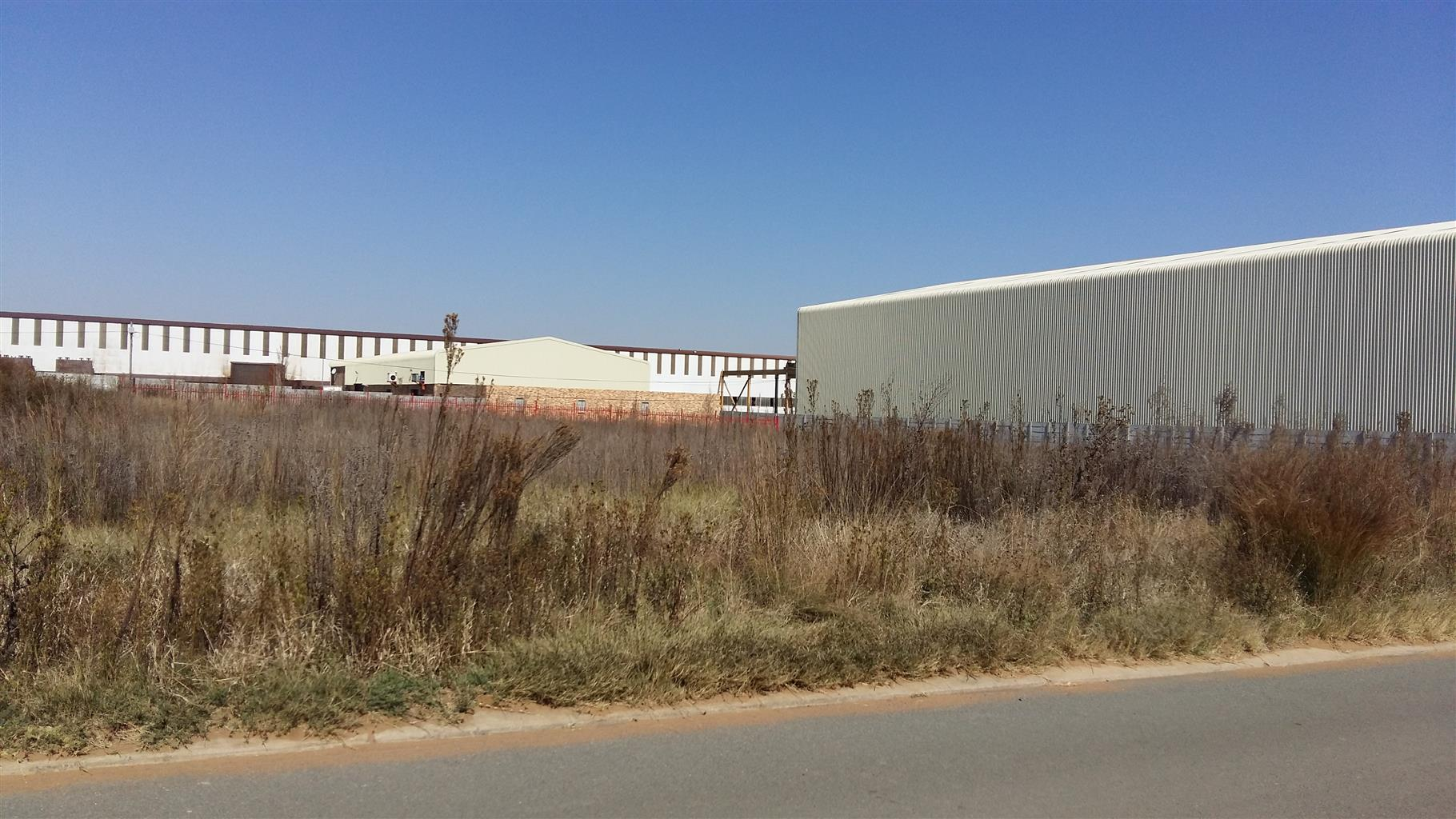 VACANT STAND FOR SALE - NALEDI INDUSTRIAL PARK- SASOLBURG