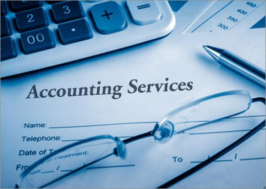 Accounting and tax services.
